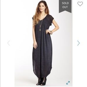 Free People keep me t shirt maxi dress
